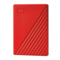 Western Digital My Passport 4Tb red